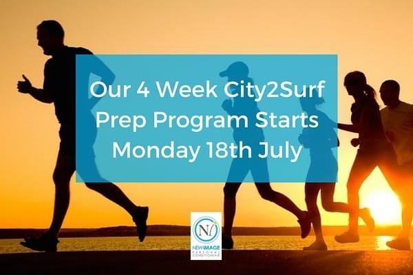 City2Surf Training Program